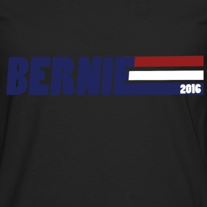 Bernie Sander 2016 retro politics - Men's Premium Long Sleeve T-Shirt