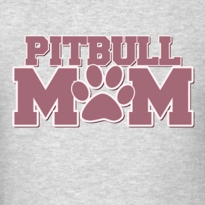 Pitbull mom of fur babies - Men's T-Shirt