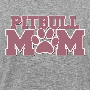 Pitbull mom of fur babies - Men's Premium T-Shirt