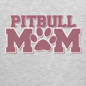 Pitbull mom of fur babies - Men's Premium Tank