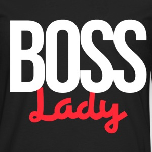BOSS lady for bosses day - Men's Premium Long Sleeve T-Shirt