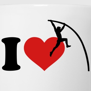 I love Pole vault Women's T-Shirts - Coffee/Tea Mug