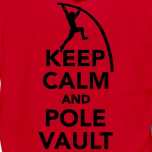 Keep calm and Pole vault Women's T-Shirts - Unisex Fleece Zip Hoodie by American Apparel