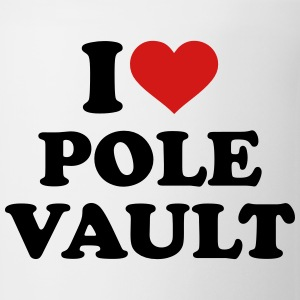 I love Pole vault Kids' Shirts - Coffee/Tea Mug