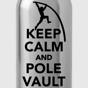 Keep calm and Pole vault Kids' Shirts - Water Bottle
