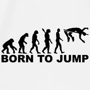 Evolution High jump Accessories - Men's Premium T-Shirt