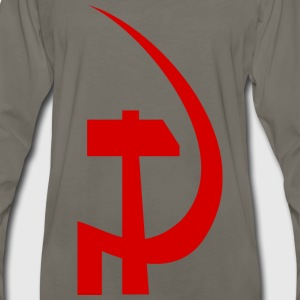 hammer and sickle - Men's Premium Long Sleeve T-Shirt