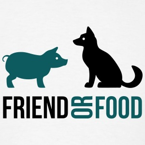 Friend or Food Tank Tops - Men's T-Shirt