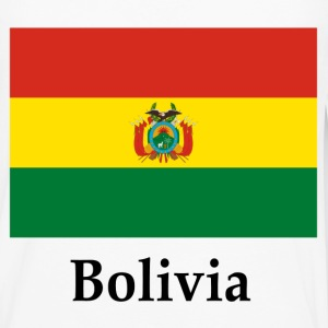 Bolivia Flag And Name T-Shirts - Men's Premium Long Sleeve T-Shirt