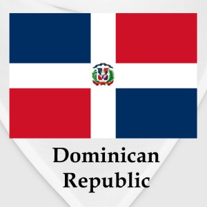 Dominican Republic Flag And Name - Bandana