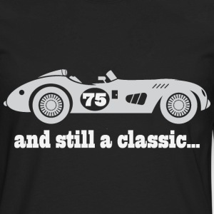 75th Birthday vintage car T-Shirts - Men's Premium Long Sleeve T-Shirt