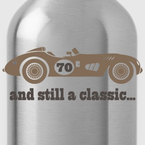 70th Birthday classic car T-Shirts - Water Bottle