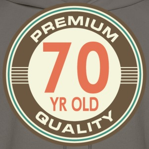 70th Birthday Vintage logo T-Shirts - Men's Hoodie