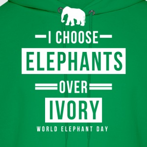 World Elephant Day T-Shirts - Men's Hoodie