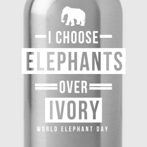 World Elephant Day T-Shirts - Water Bottle