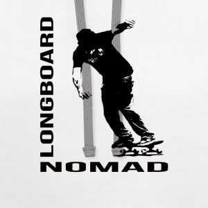 Longboard Nomad - Nomad Zone Buttons - Contrast Hoodie