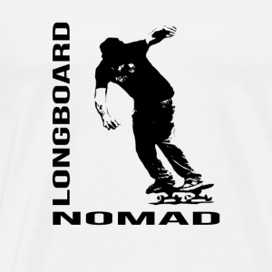 Longboard Nomad - Nomad Zone Buttons - Men's Premium T-Shirt