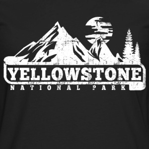 Yellowstone National Park T-Shirts - Men's Premium Long Sleeve T-Shirt