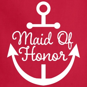 Maid Of Honor nautical Women's T-Shirts - Adjustable Apron