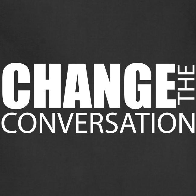 Change the Conversation Wide Neck Tee