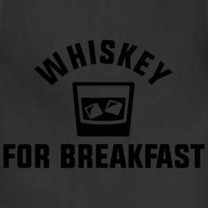 Whiskey For Breakfast T-Shirts - Adjustable Apron