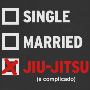Single Married or Jiu Jitsu Coffee Mug - Adjustable Apron