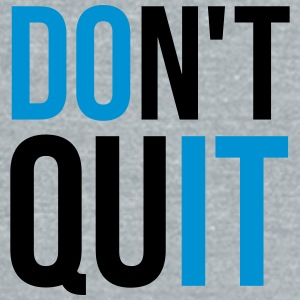 Don't Quit Caps - Unisex Tri-Blend T-Shirt by American Apparel