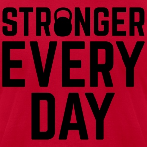 Stronger Every Day Molletons - T-shirt pour hommes American Apparel