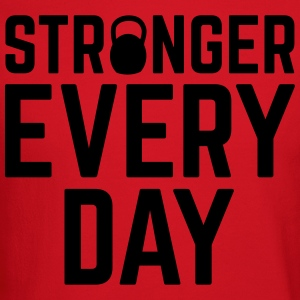 Stronger Every Day Hoodies - Crewneck Sweatshirt