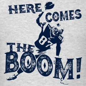 Here Comes The Boom, Gronk Spike Shirt Blue Hoodies - Men's T-Shirt