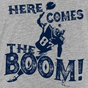 Here Comes The Boom, Gronk Spike Shirt Blue Sweatshirts - Toddler Premium T-Shirt