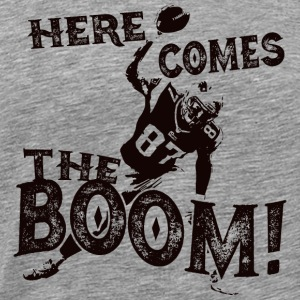 Here Comes The Boom, Gronk Spike Shirt Hoodies - Men's Premium T-Shirt