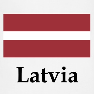 Latvia Flag - Adjustable Apron