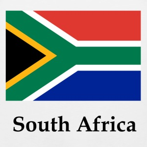 South Africa Flag T-Shirts - Men's Premium Tank