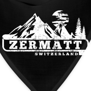 Zermatt Switzerland T-Shirts - Bandana