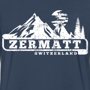 Zermatt Switzerland T-Shirts - Men's Premium Long Sleeve T-Shirt