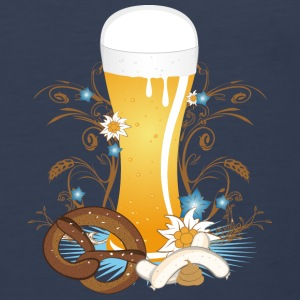 Wheat beer with snack Hoodies - Men's Premium Tank