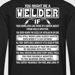 Welder - Men's Premium Long Sleeve T-Shirt