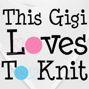 This Gigi Loves To Knit Women's T-Shirts - Bandana