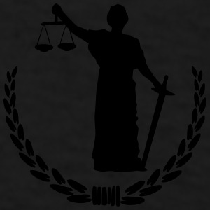 Lady Justice Mugs & Drinkware - Men's T-Shirt