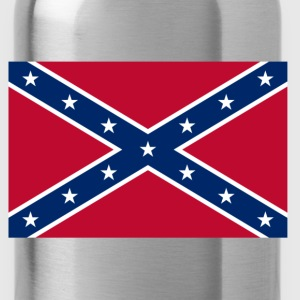 Confederate Naval Jack  T-Shirts - Water Bottle