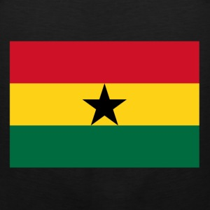Ghana Flag T-Shirts - Men's Premium Tank
