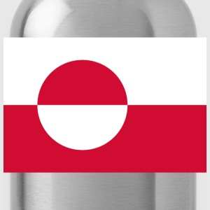 Flag of Greenland  T-Shirts - Water Bottle