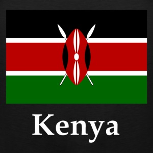 Kenya Flag T-Shirts - Men's Premium Tank