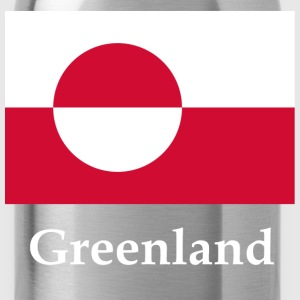 Greenland Flag T-Shirts - Water Bottle
