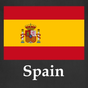 Spain Flag T-Shirts - Adjustable Apron
