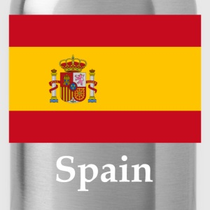 Spain Flag T-Shirts - Water Bottle