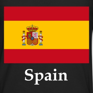 Spain Flag T-Shirts - Men's Premium Long Sleeve T-Shirt