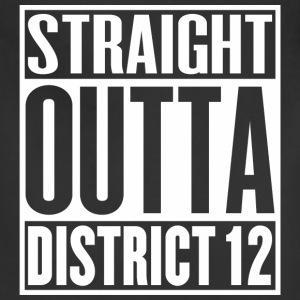 Straight Outta District 12 - Adjustable Apron