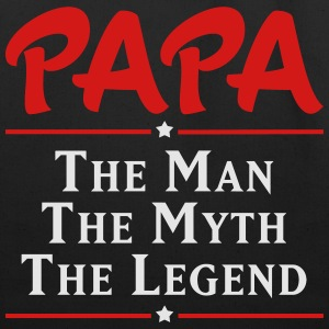 Papa The Man The Myth The Legend T-Shirts - Eco-Friendly Cotton Tote